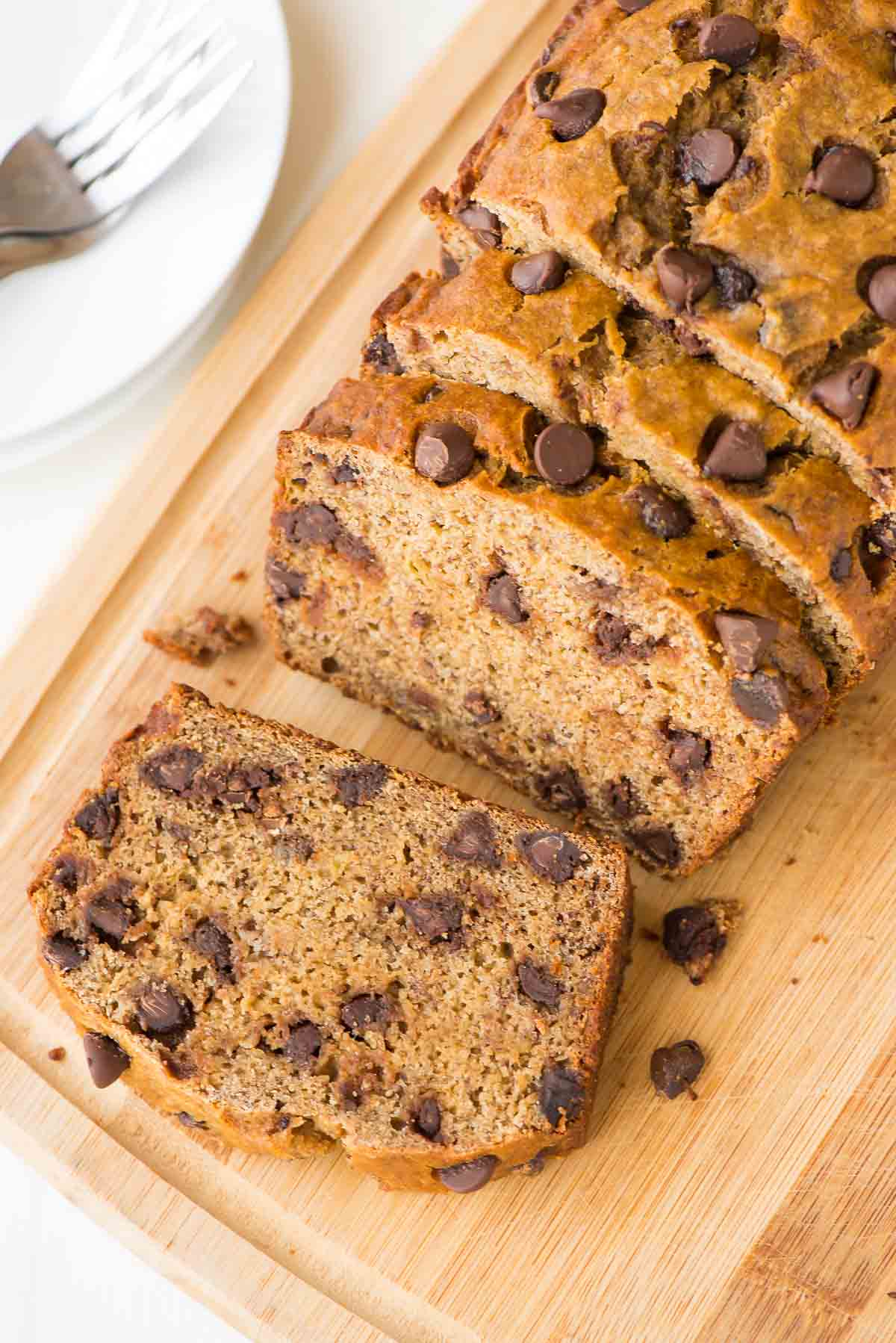 Healthy Banana Bread Recipe with Chocolate Chips | Well Plated by Erin