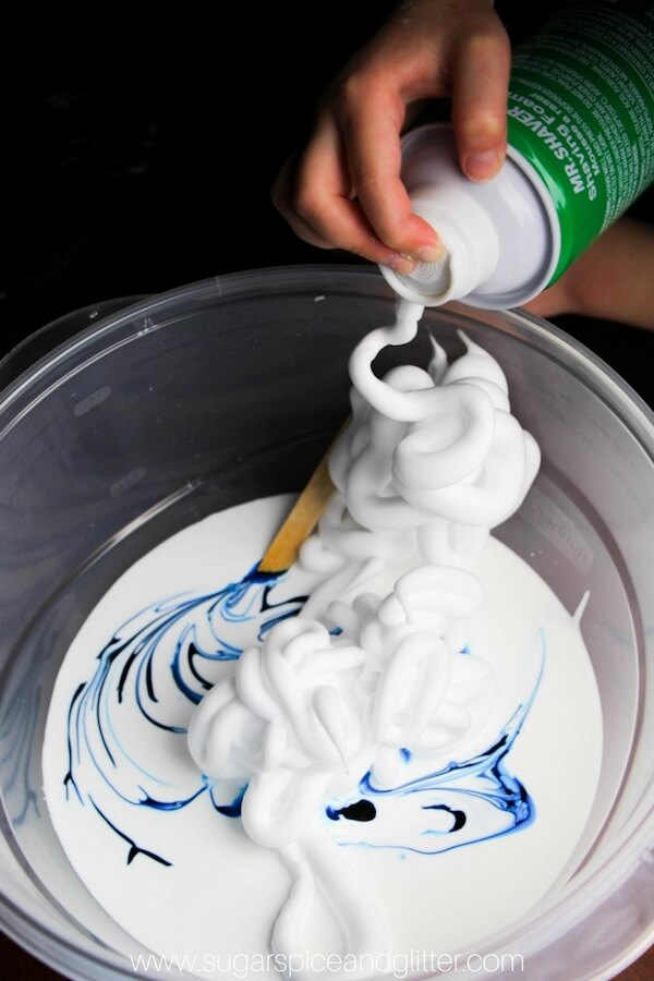 Easy 3-Ingredient Fluffy Slime (with VIDEO) ⋆ Sugar, Spice and ...