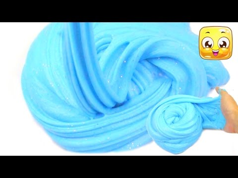How To Make Soft Serve Slime without borax! Giant Fluffy Slime ...
