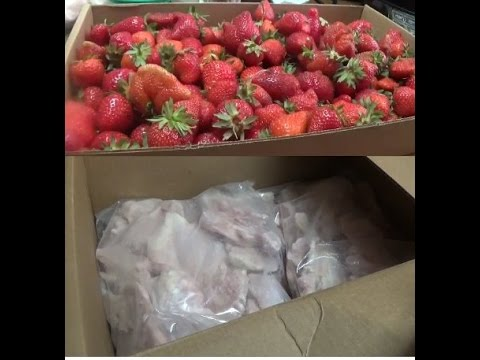 My Zaycon Chicken Thighs and Sweet Strawberries from the ...