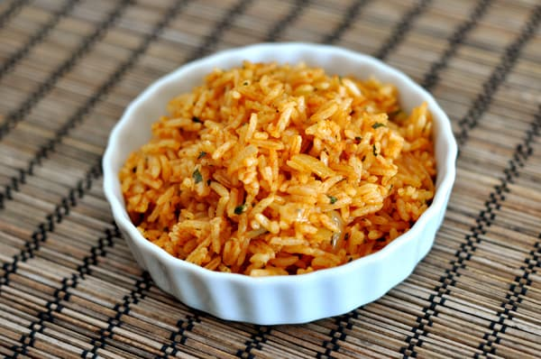 Mexican Rice {Simple Side Dish} - Mel