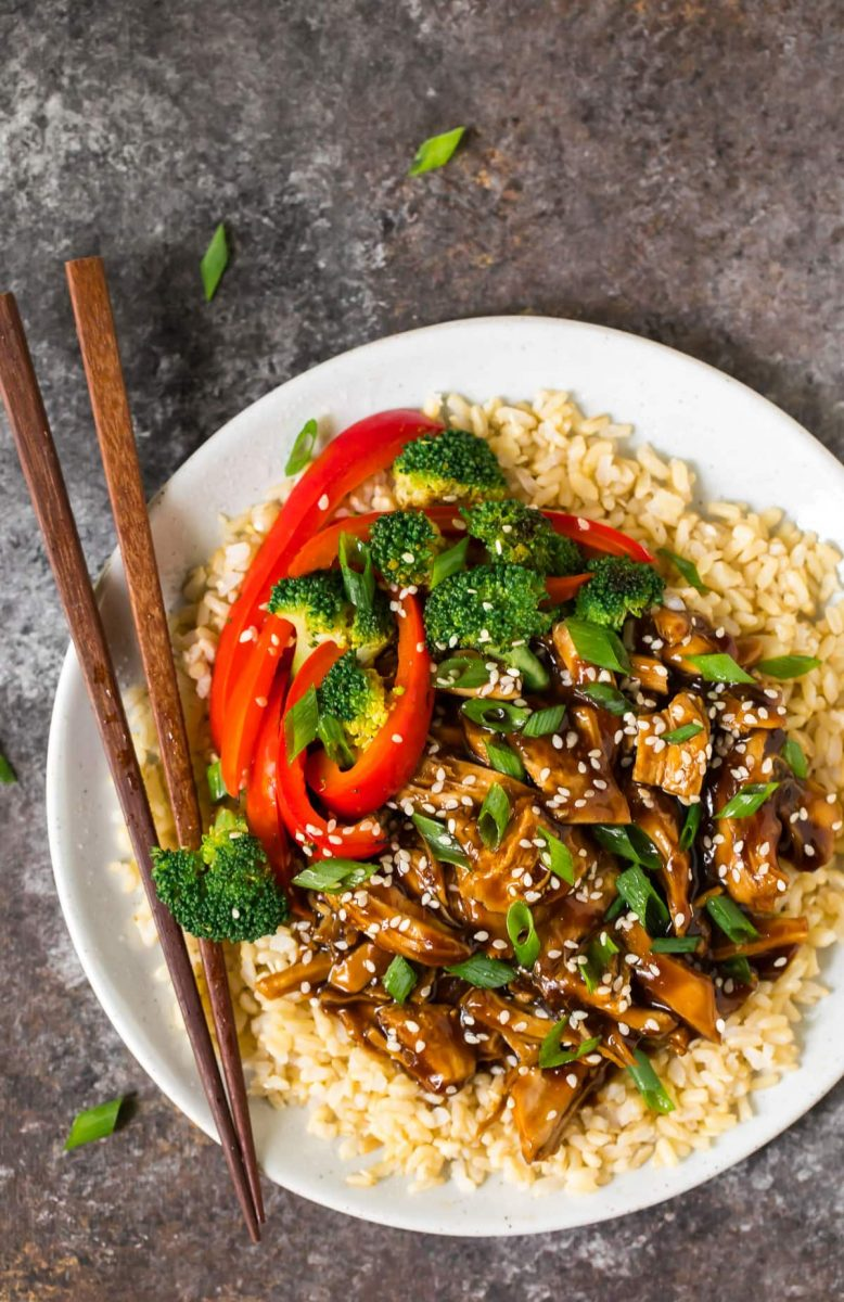Instant Pot Teriyaki Chicken | Simple and Healthy Instant Pot Recipe