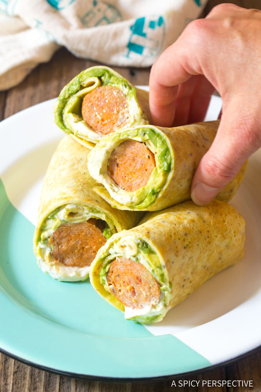 Keto Breakfast Egg Wrap Recipe - A Spicy Perspective