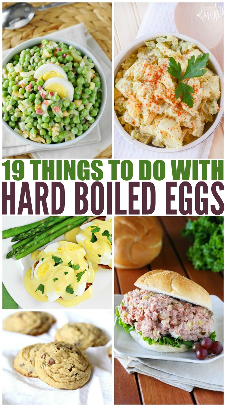 Things to do With Leftover Hard Boiled Eggs - Family Fresh Meals