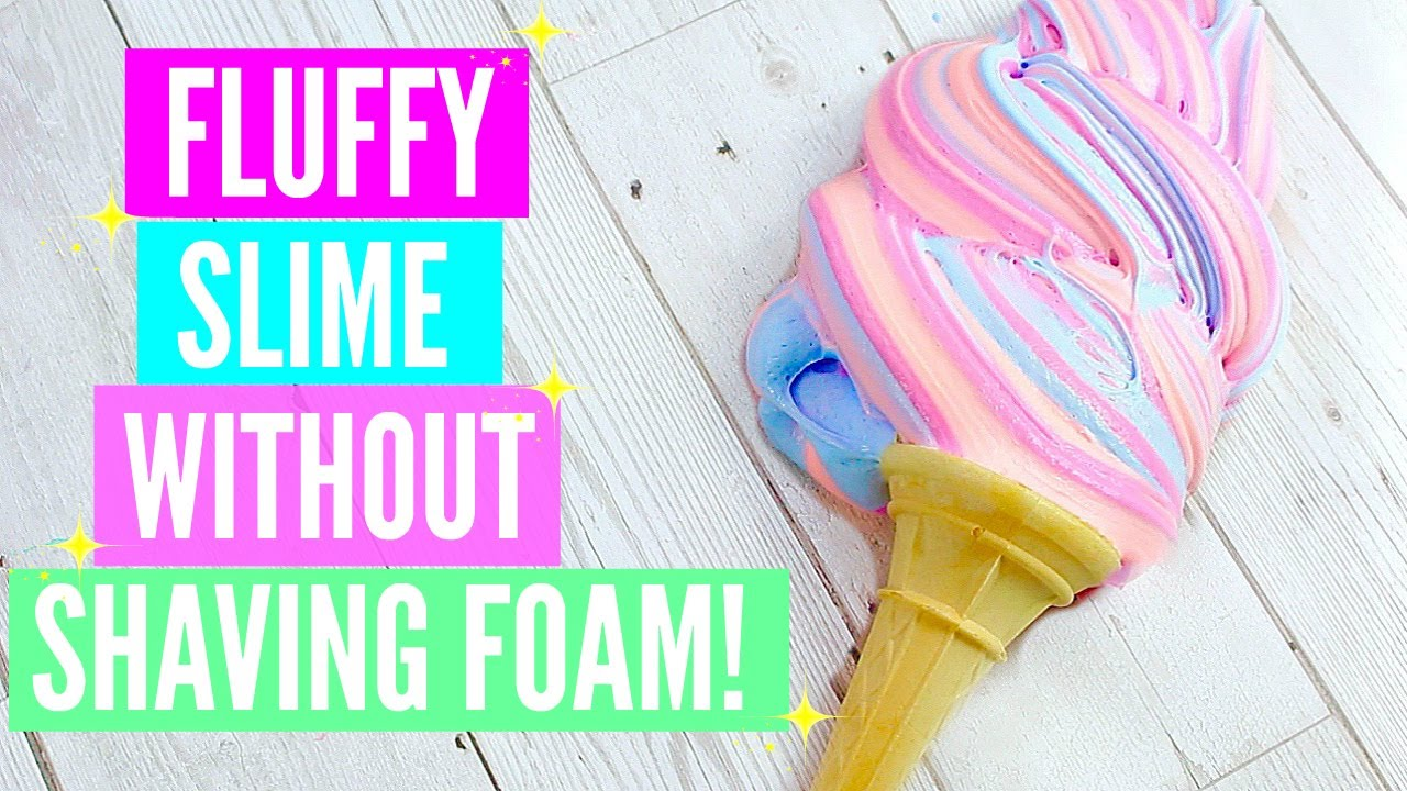 How To Make Non-Deflateable Fluffy Slime 3 Recipes! How To Make ...