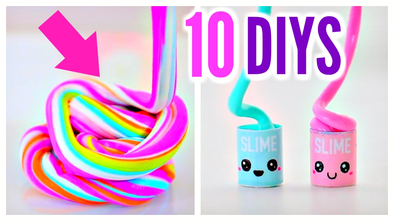 10 Best DIY Slime Videos: Butter Slime, Oddly Satisfying, Fluffy ...