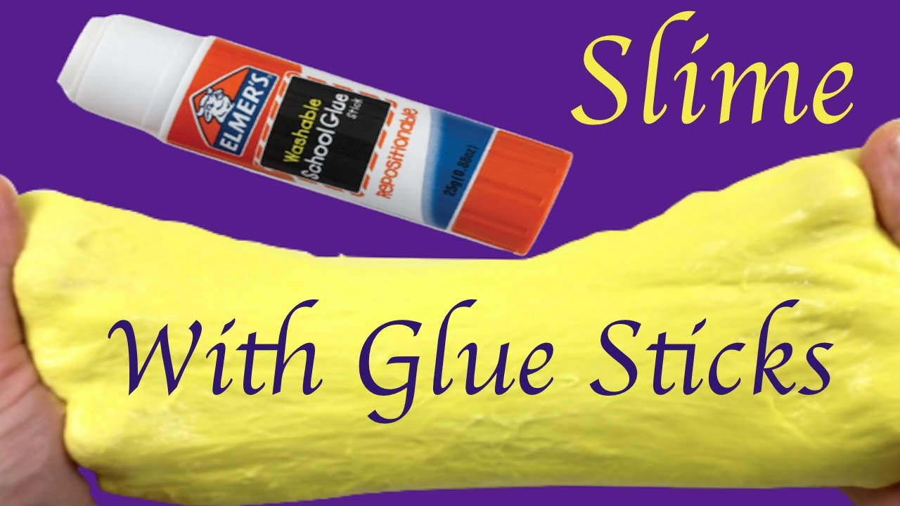 how to make fluffy slime with glue - how to today