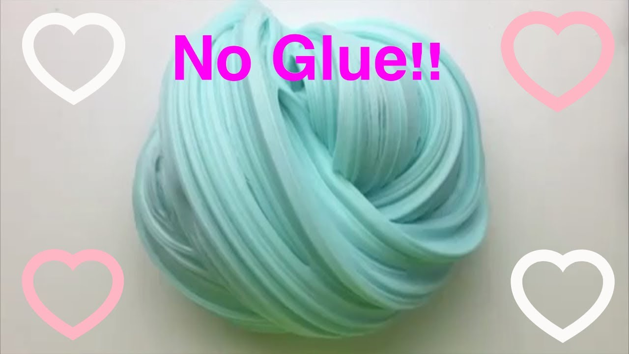How To Make Fluffy Slime With No Glue!! - YouTube