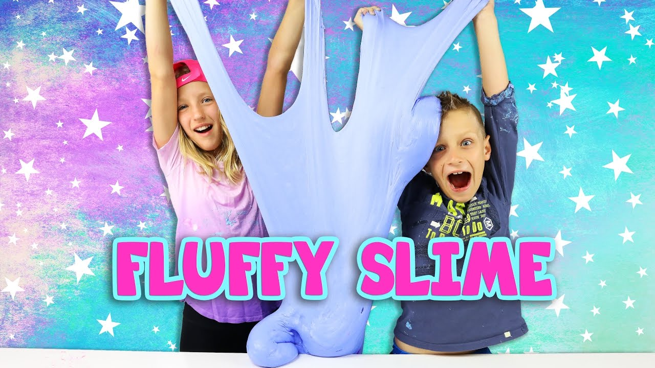 DIY GIANT FLUFFY SLIME! - YouTube