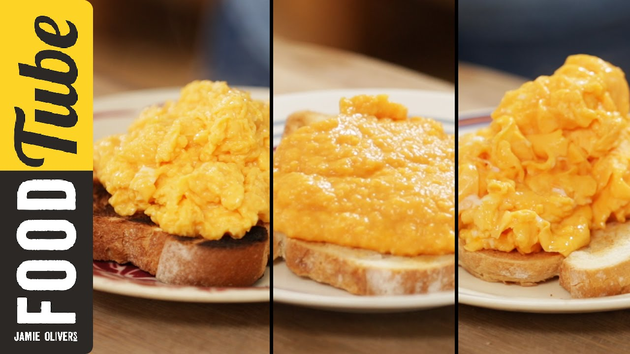 How To Make Perfect Scrambled Eggs - 3 ways | Jamie Oliver - YouTube