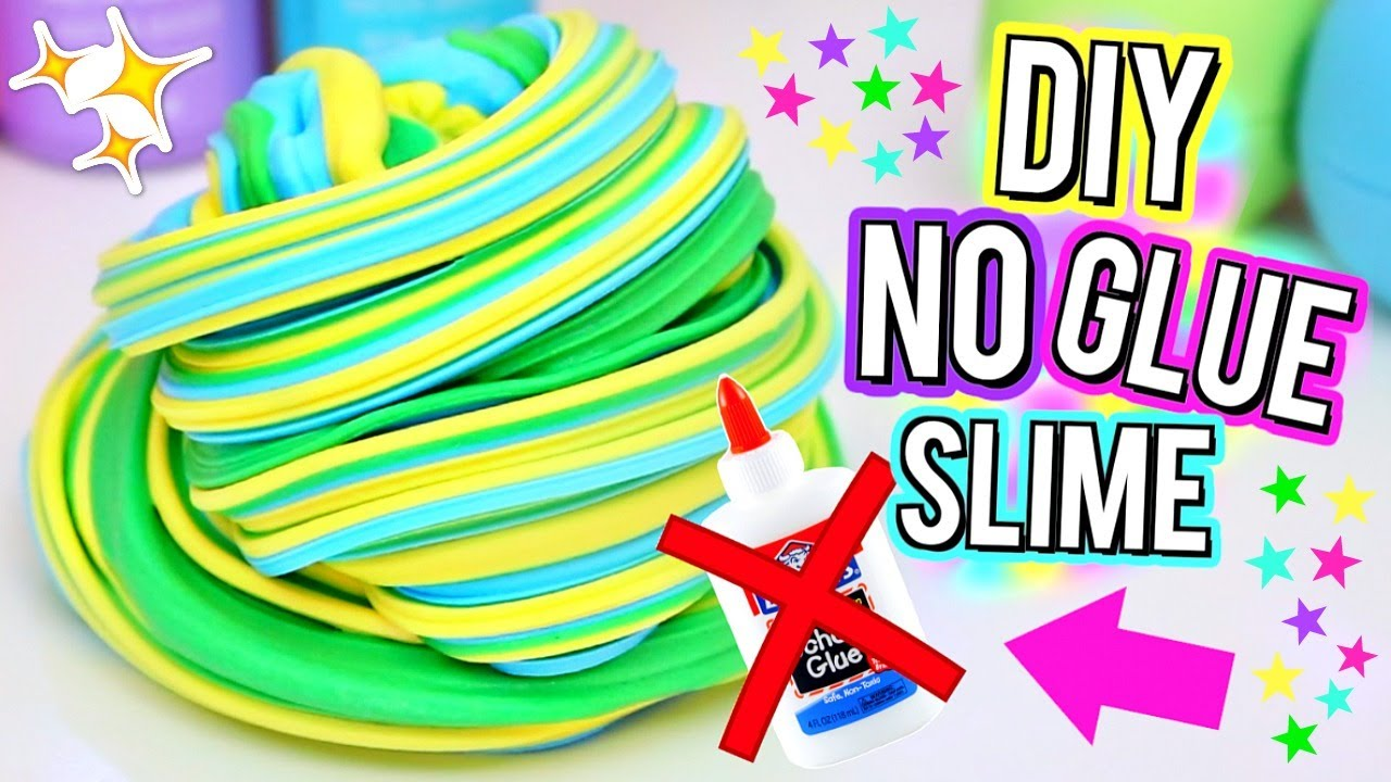 DIY Fluffy Slime WITHOUT GLUE! How To Make The BEST SLIME with NO ...