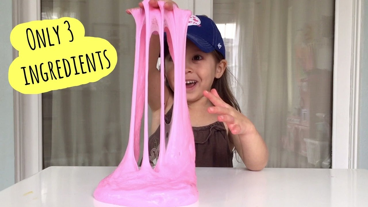 FLUFFY SLIME | Only 3 ingredients | How to make your own fluffy ...