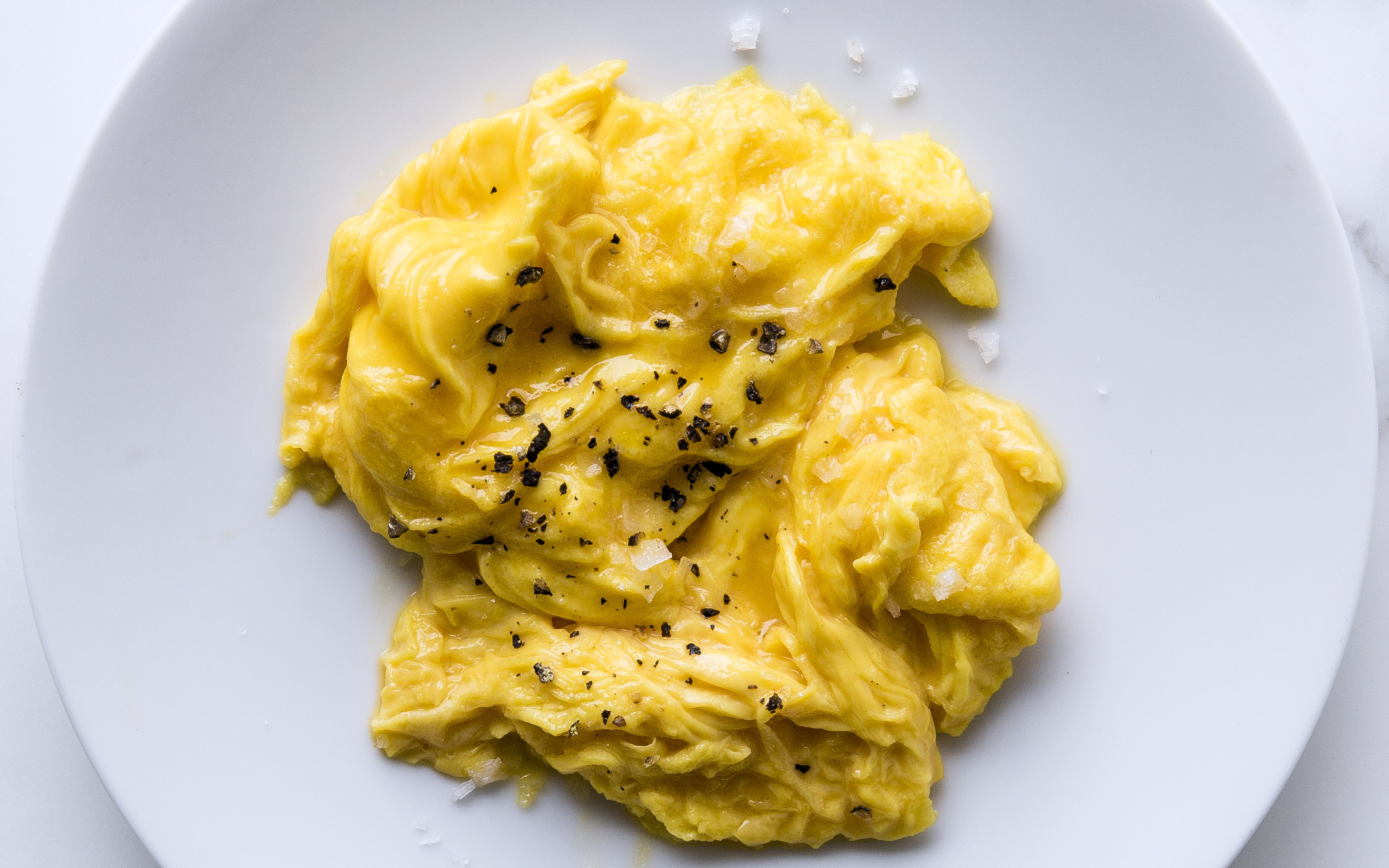How to Make the Absolute Best Scrambled Eggs Ever   Bon Appétit