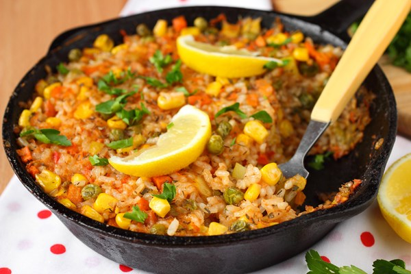 Skinny Beef Taco Rice Skillet (Weight Watchers) | KitchMe