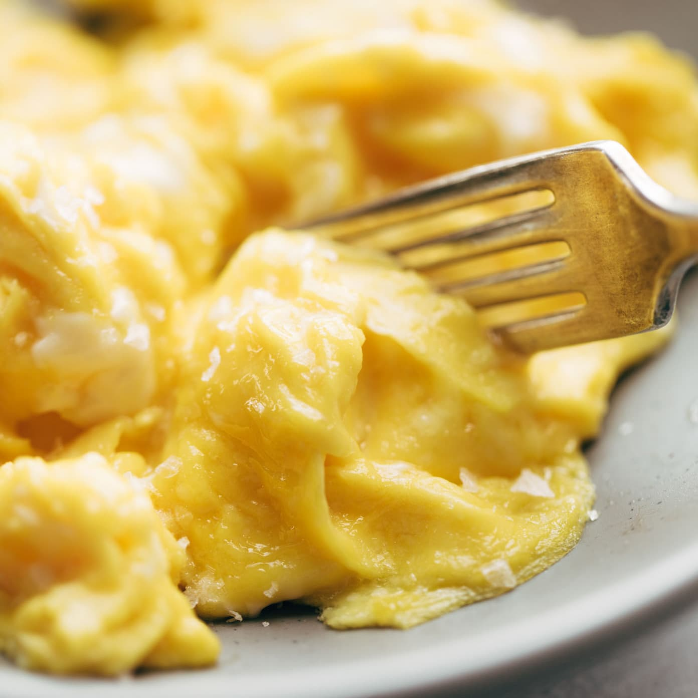 Life Changing Soft Scrambled Eggs - Pinch of Yum