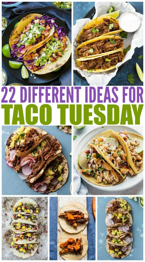 20 Deliciously Different Tacos - Family Fresh Meals