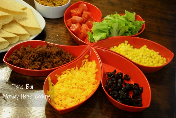 Easy Taco Bar - Mommy Hates Cooking