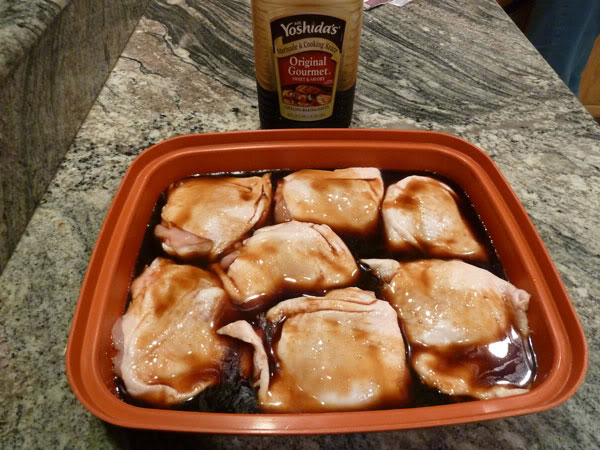 Yoshida Sauce Chicken Thighs Best Recipes Around The World