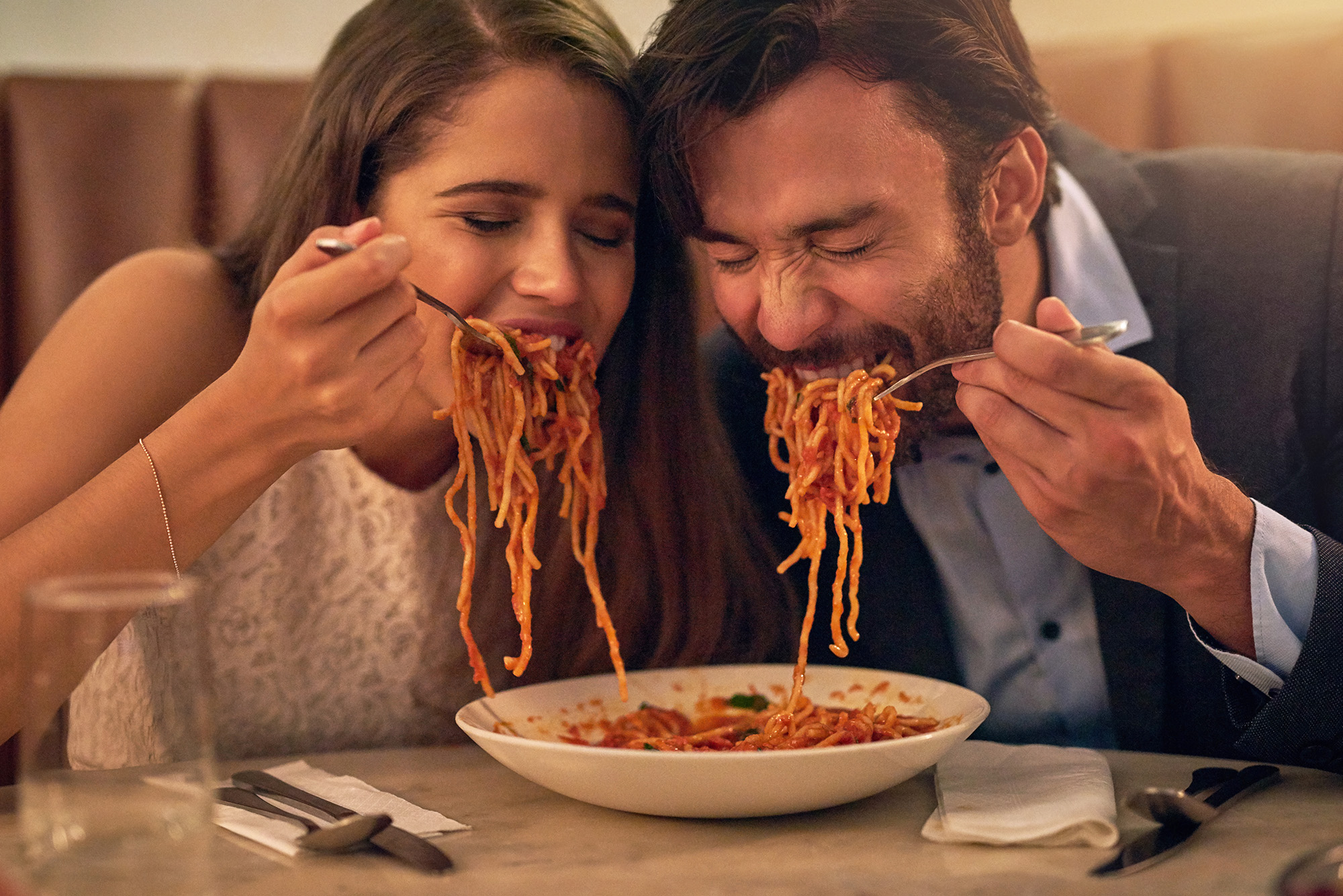 Let the truth set you free: Eating pasta won