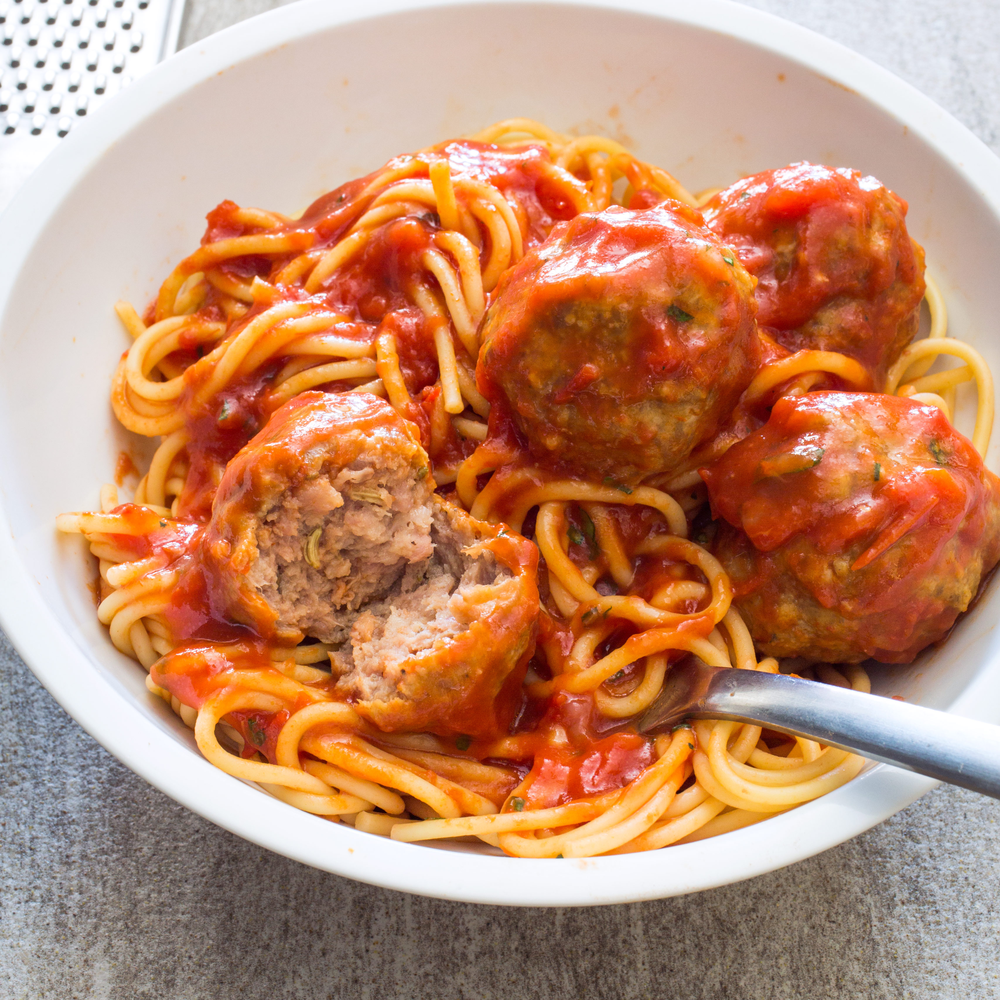 Sausage Meatballs and Spaghetti | Cook