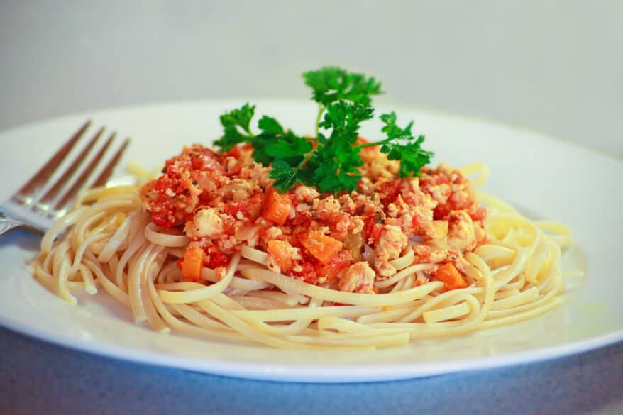 Spaghetti With Chicken Bolognese Recipe - The Daring Gourmet