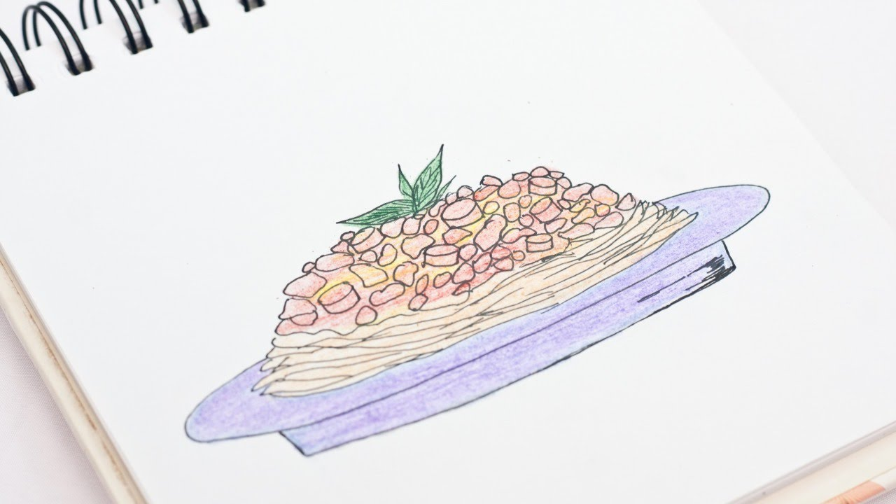 Easily Draw a Delicious Spaghetti - DIY Crafts - Guidecentral ...