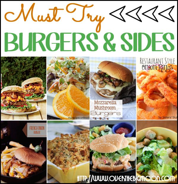 50+ Hamburger Recipes and Side Dishes | Grilling Recipes | Grilled ...