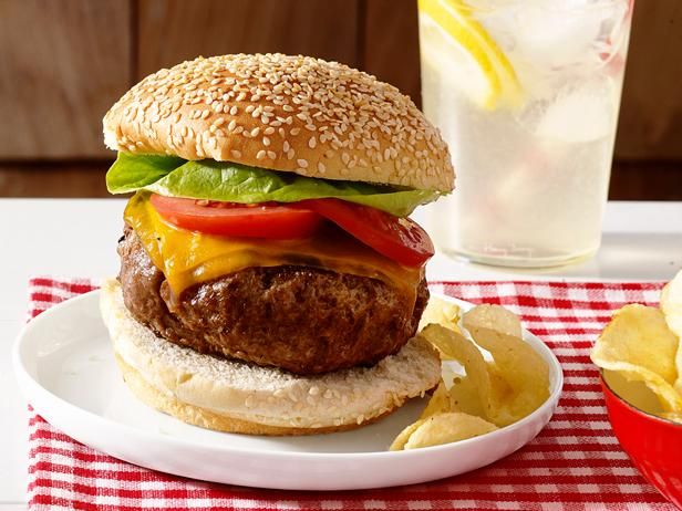 Perfect Beef Burgers Recipe | Food Network Kitchen | Food Network