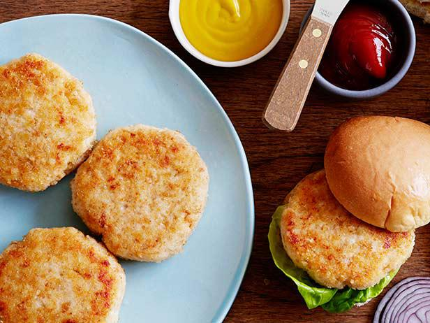 Chicken Burgers Recipe | Food Network