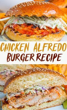 CHICKEN ALFREDO BURGER RECIPE 7Specs | Best Italian Recipes ...