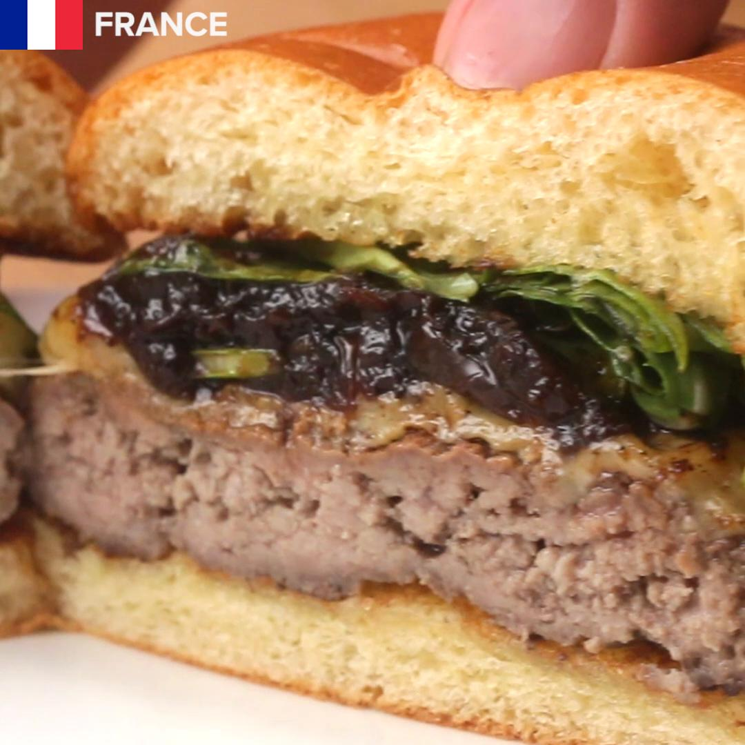 French Onion Burger Recipe by Tasty