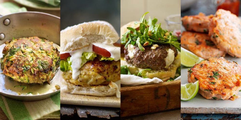 Best burger recipes - vegetarian burger recipes - How to make burgers
