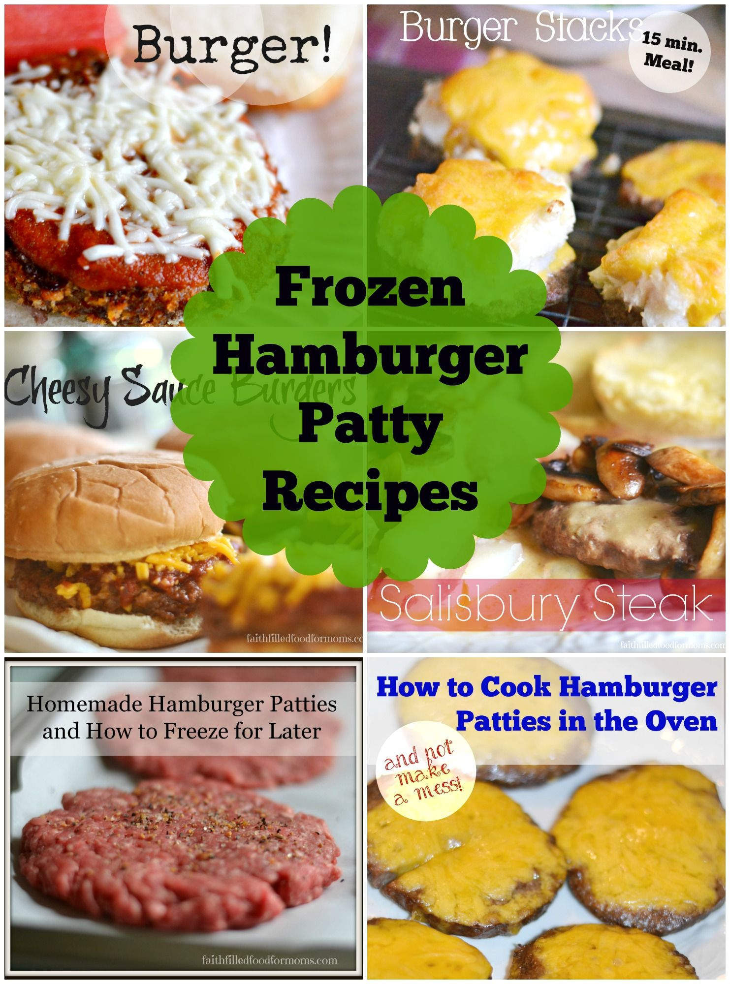 Easy Frozen Hamburger Patty Recipes | This Is How We Roll Link ...