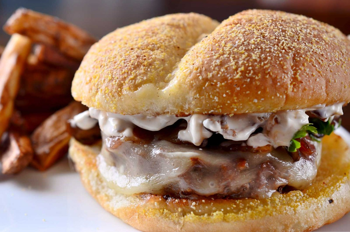 Caramelized French Onion Dip Burger - Life