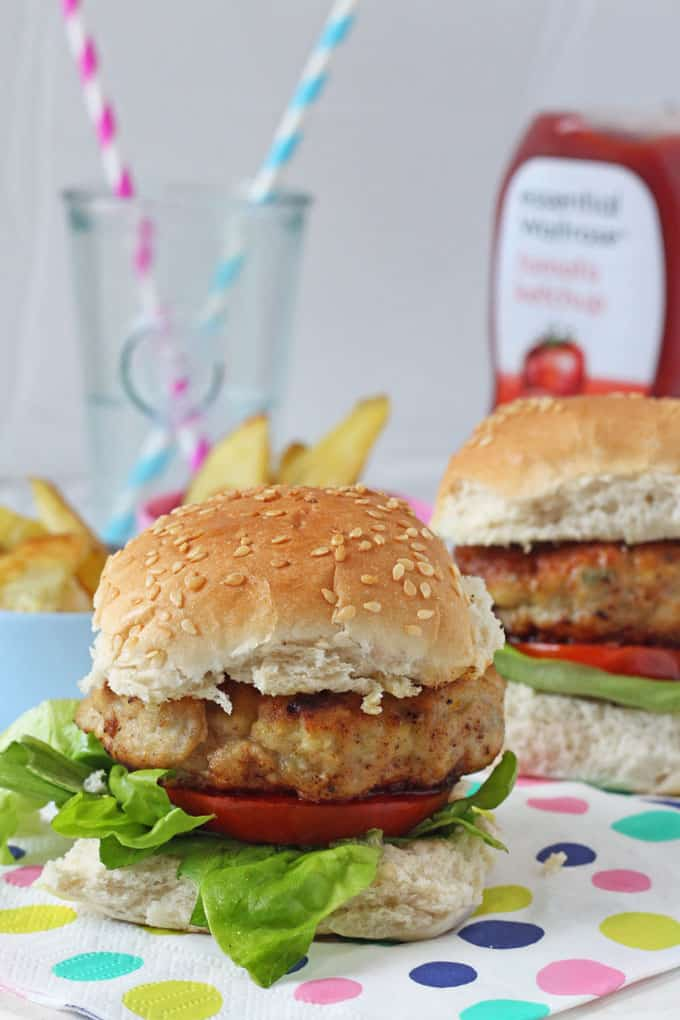 Chicken & Apple Burgers - My Fussy Eater | Easy Kids Recipes