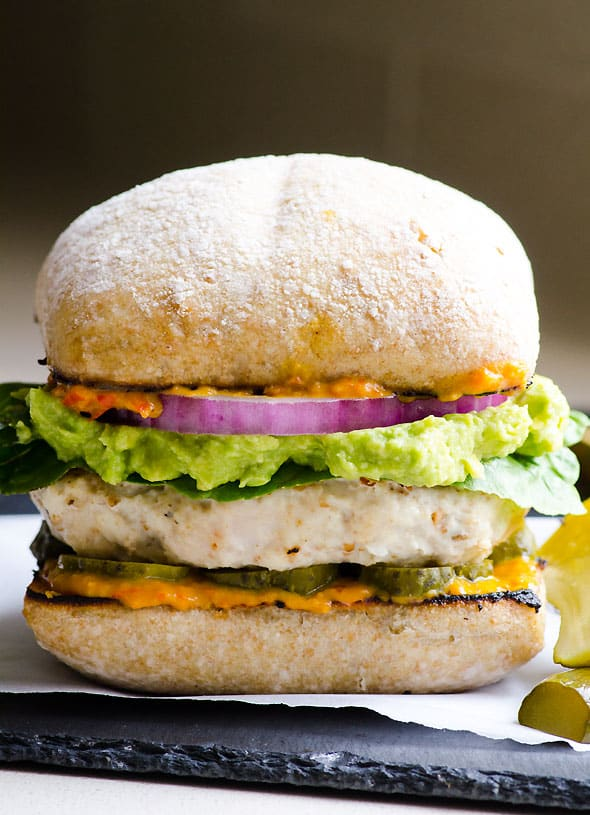 THE BEST Ground Chicken Burgers (Patties) - iFOODreal - Healthy ...
