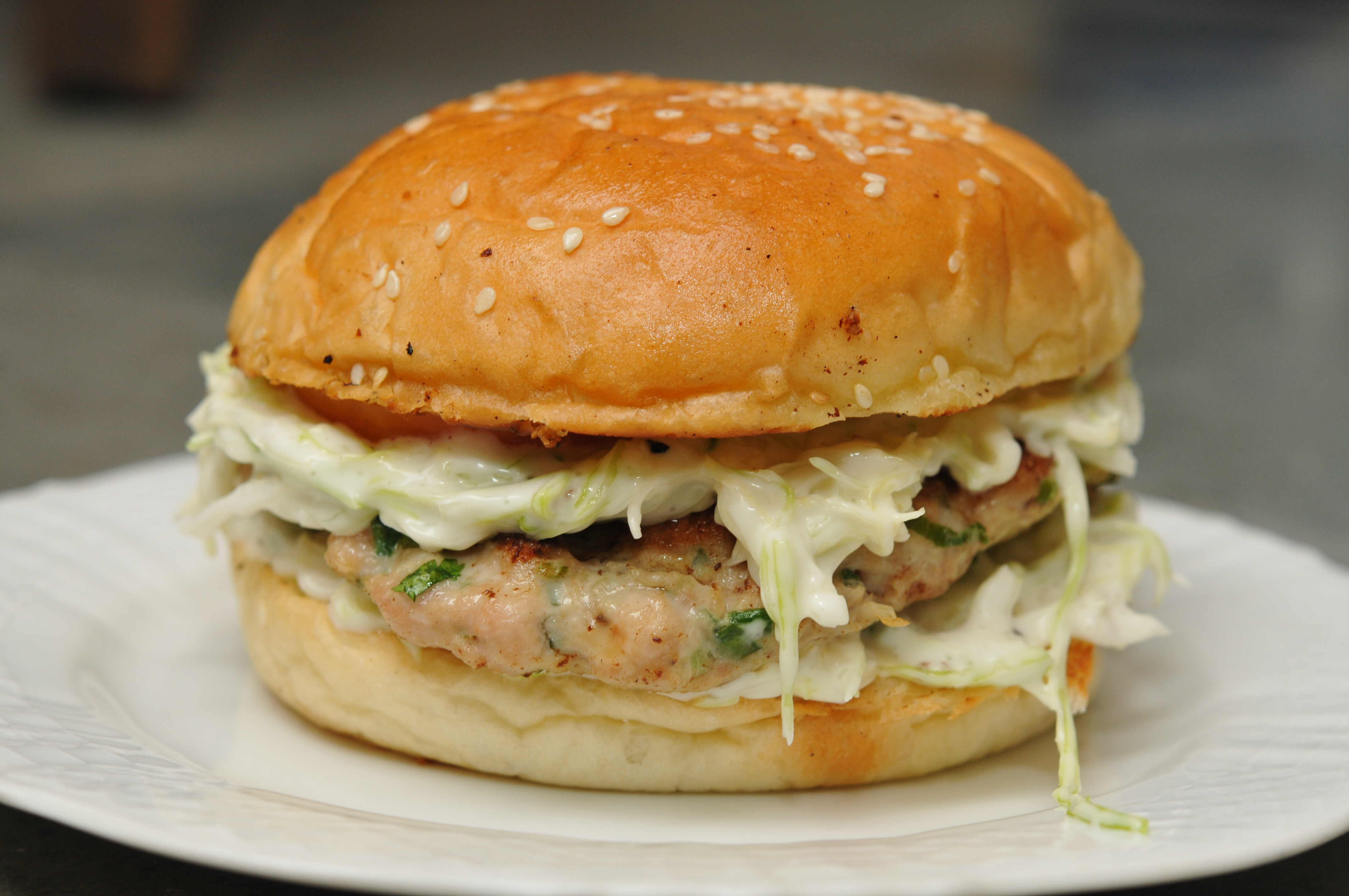 The Great Indian Chicken Burger | The Restaurant Fairy