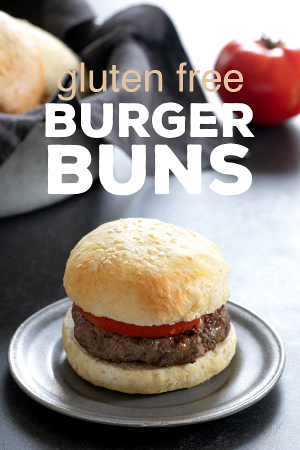 Gluten Free Buns for Hamburgers and Sandwiches