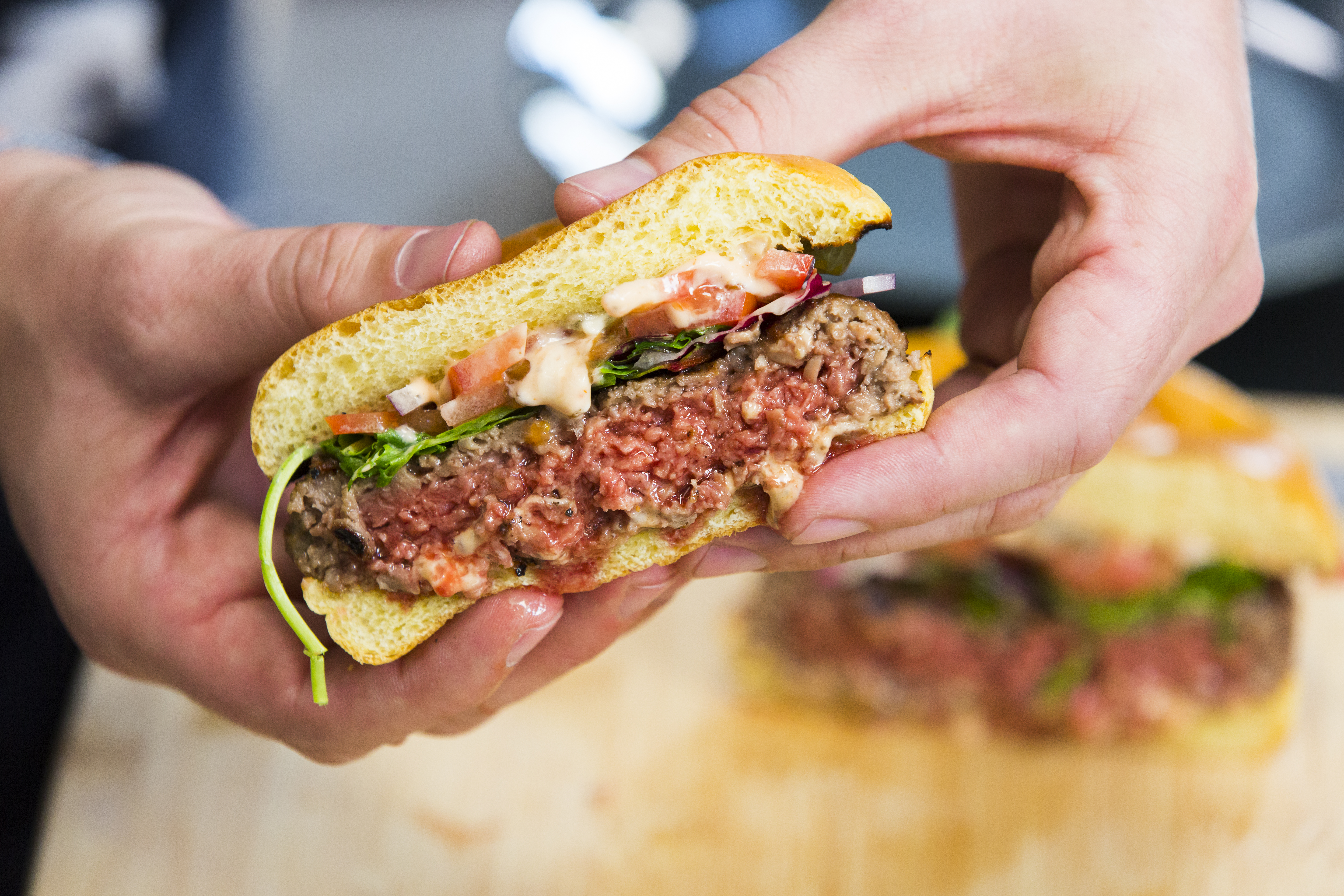 Impossible Foods Unveils New Gluten-Free Burger Recipe at CES ...