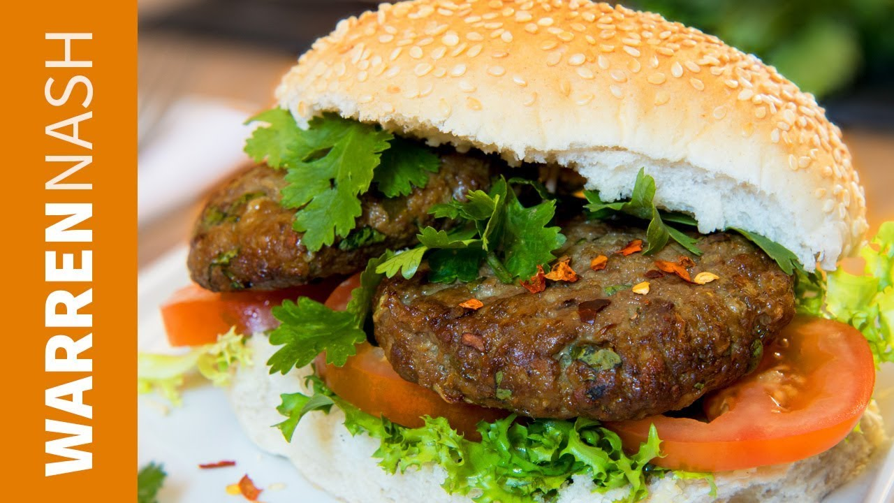 Curry Beef Burgers Recipe - Awesome Indian flavours in a bun ...