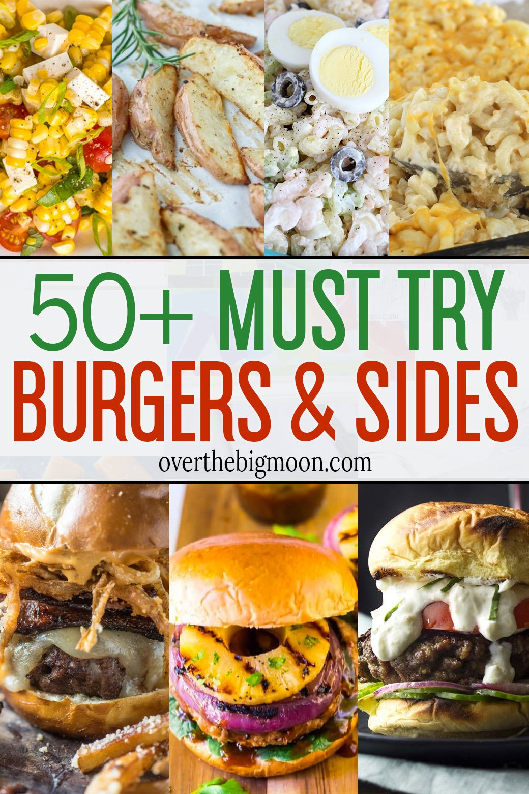50+ Hamburger Recipes and Side Dishes | Over The Big Moon