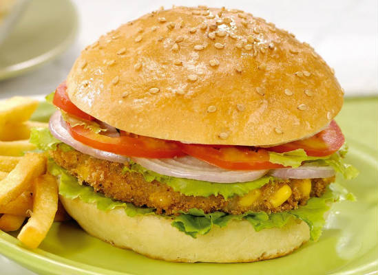 Indian style Paneer Burger Recipe | How to Make Indian style ...